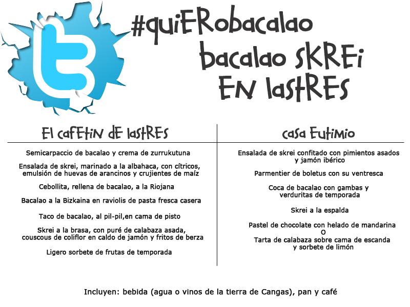 Concurso #QuieroBacalao - Jornadas Bacalao Skrei en Lastres